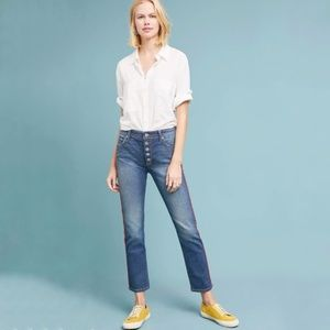 Anthropologie Pilcro & Letterpress Relaxed Jeans
